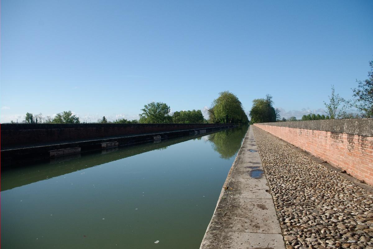 Le pont canal sur le Tarn à Moissac