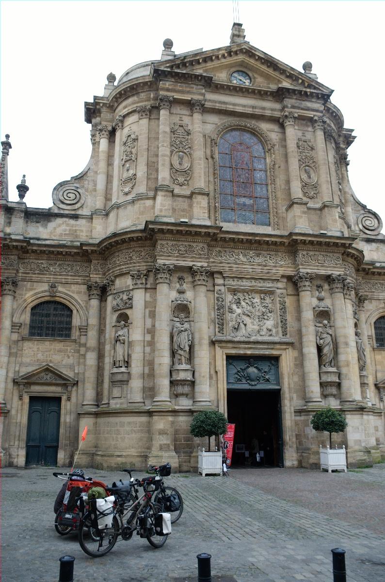 Pause église à Bordeaux