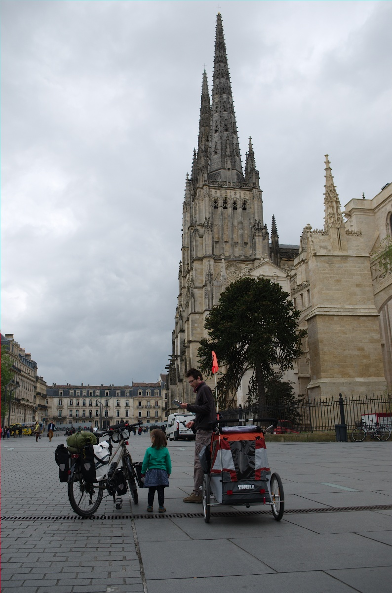 Pause cathédrale à Bordeaux
