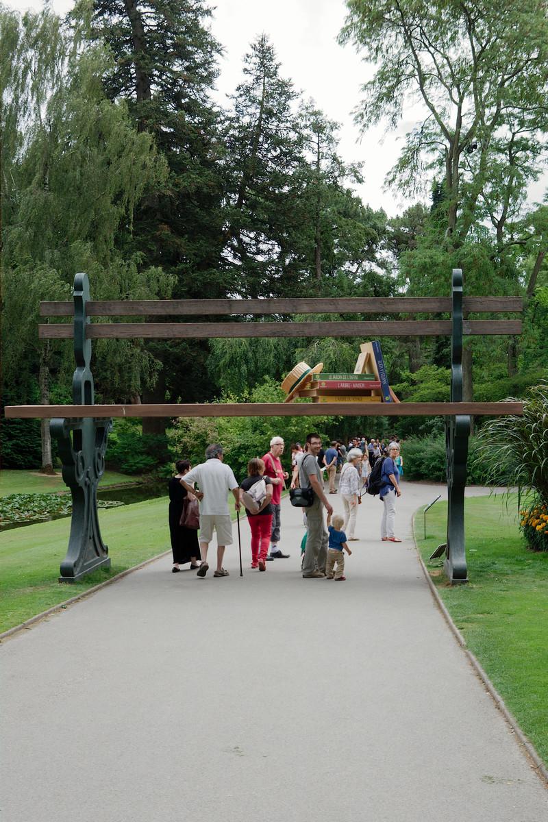 Les jardin des plantes de Nantes