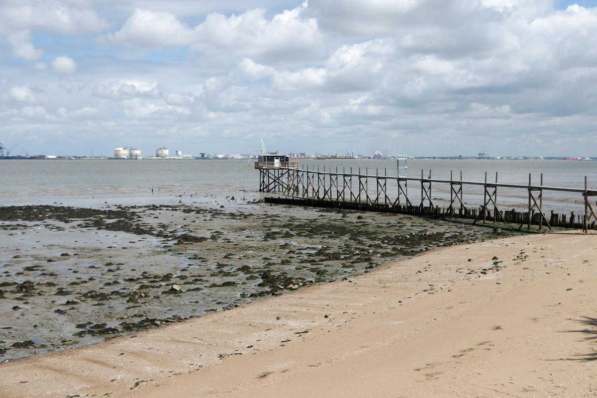 L'estuaire de la Loire au niveau de Saint-Nazaire