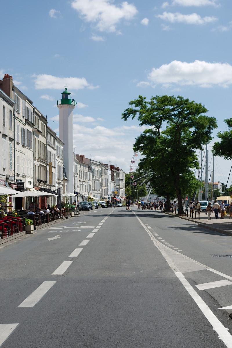 Le quai Valin à La Rochelle