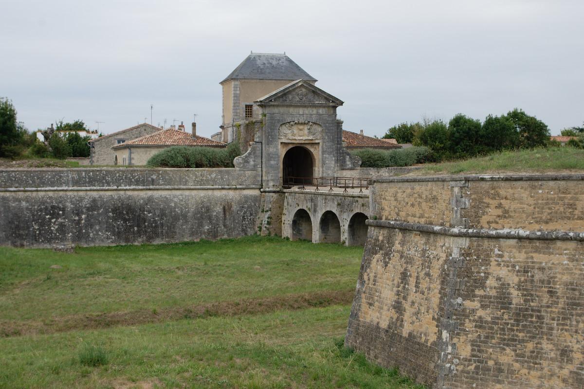 La porte des Campani de Saint-Martin-de-Ré