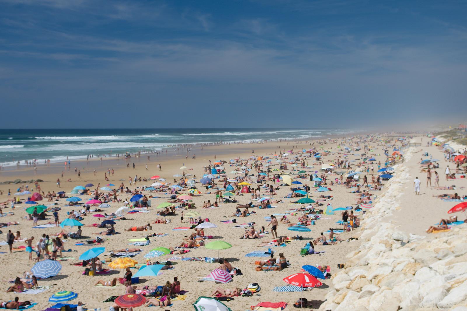 Lacanau-plage, la semaine du 15 août