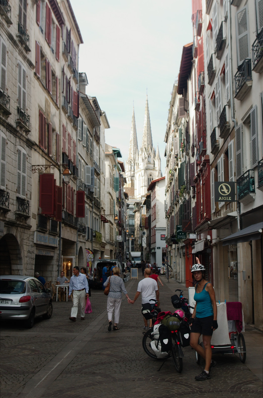 Passage par Bayonne