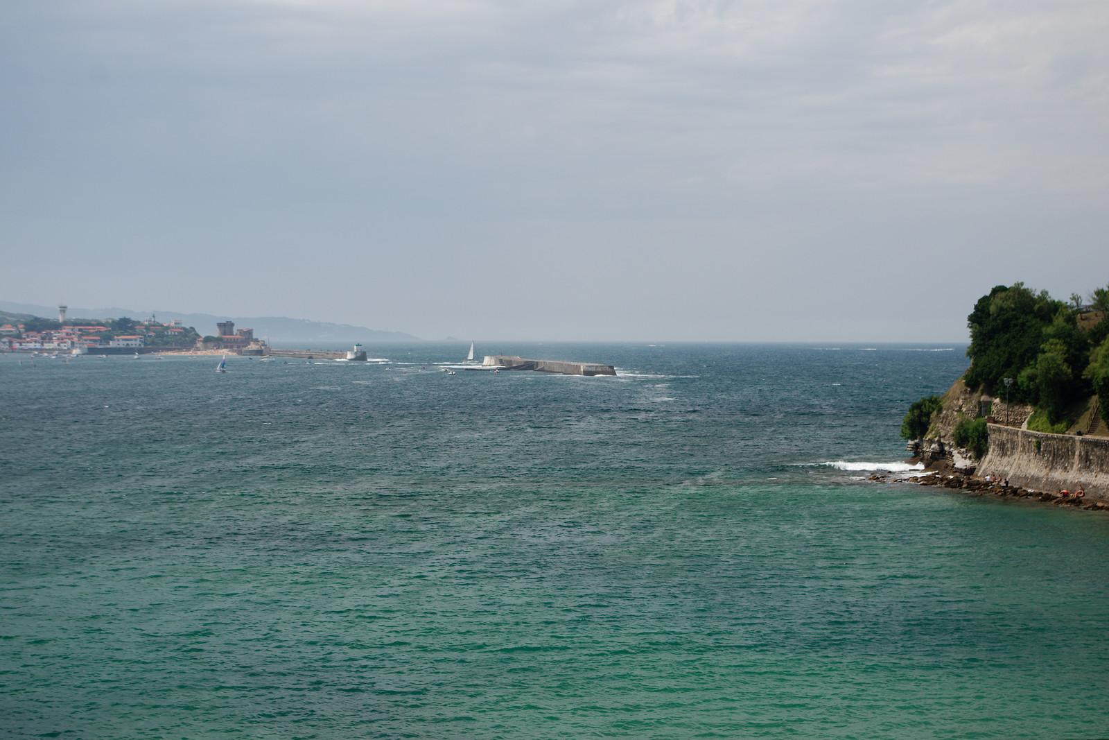 La baie de Saint-Jean-de-Luz