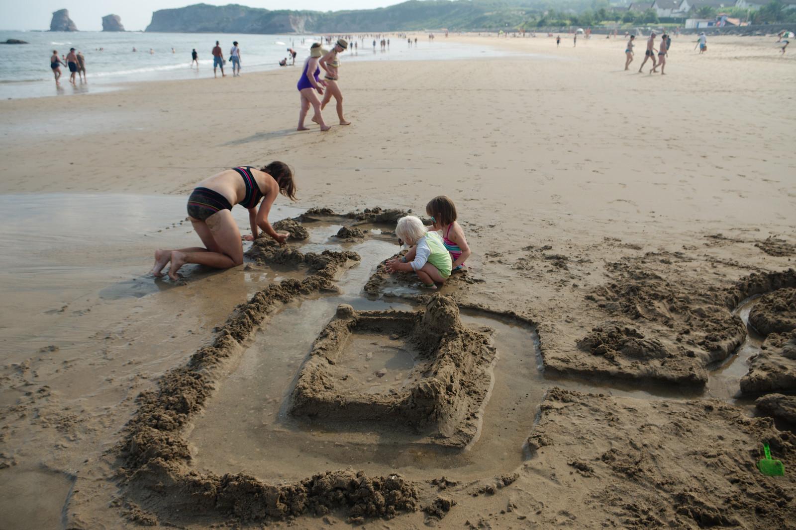 Un super dernier château de sable