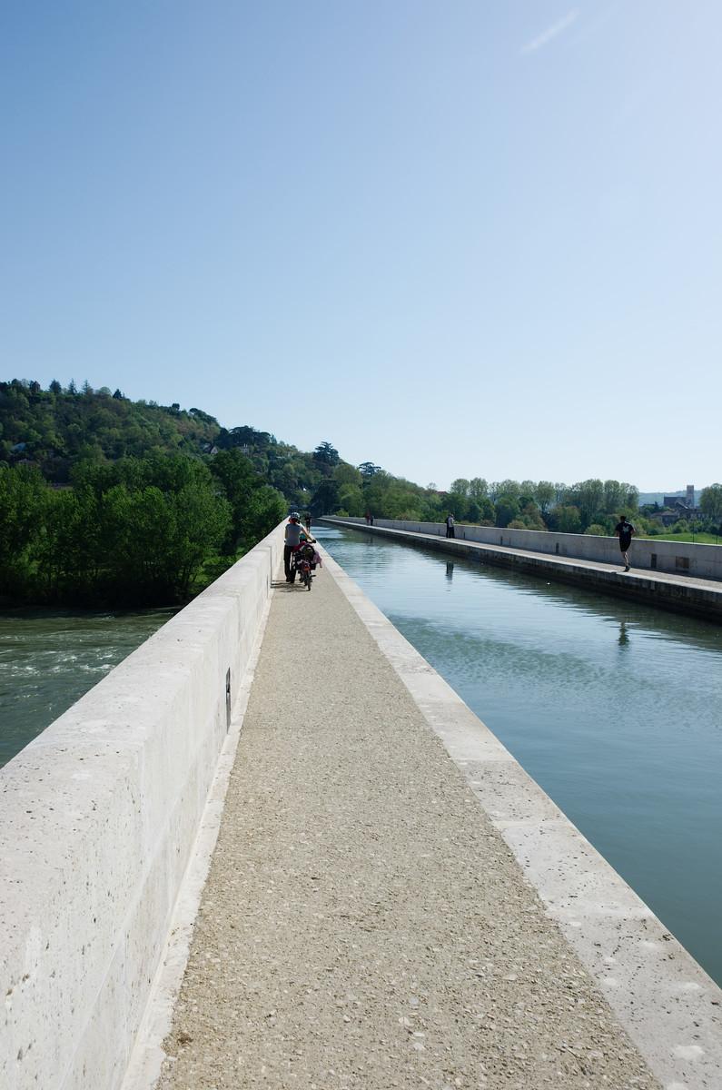 Le pont canal d'Agen