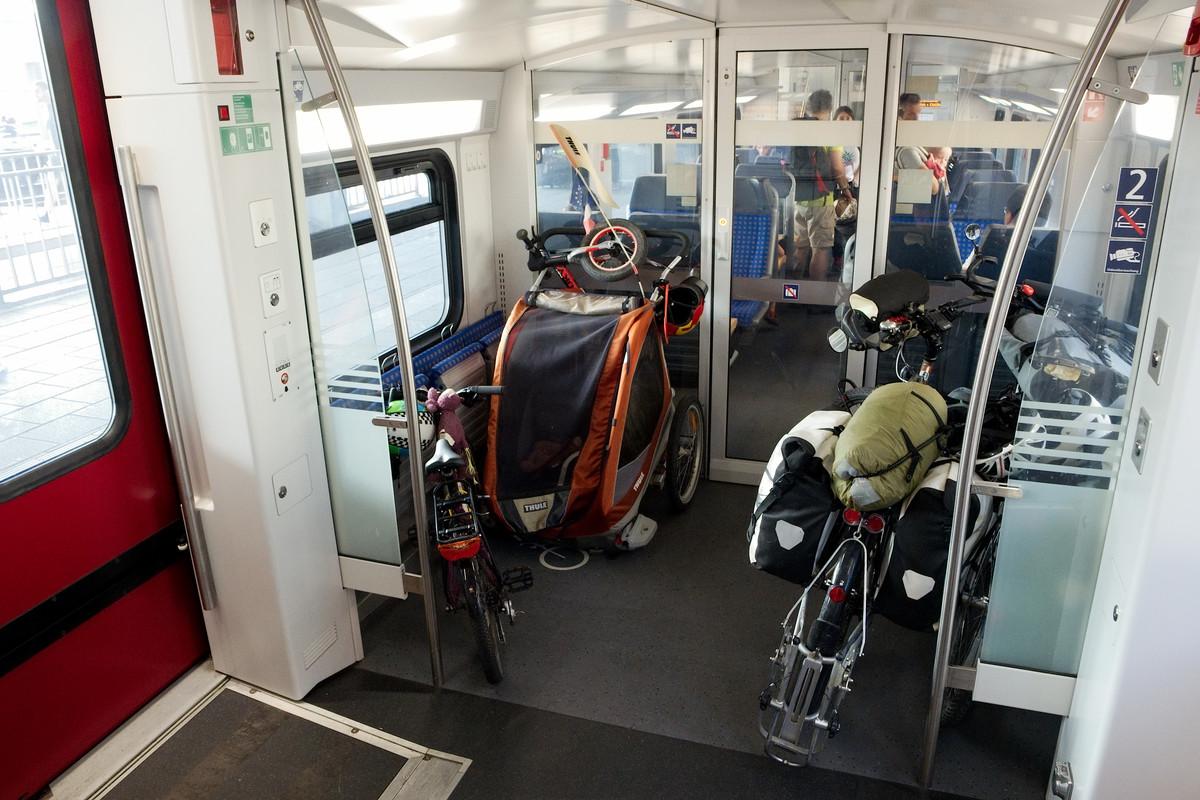 Dans un train allemand